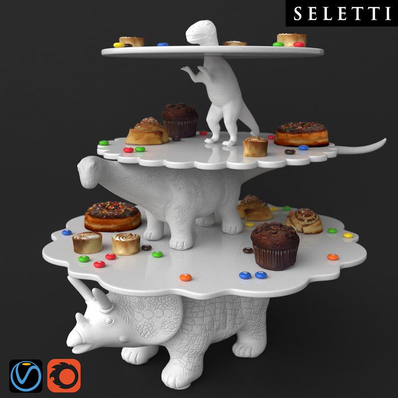 seletti sauria 3D model