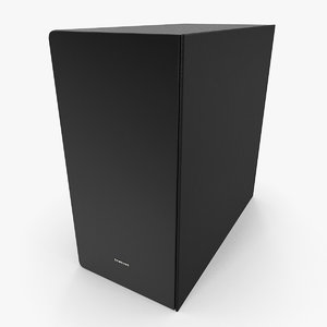 samsung subwoofer 3D model