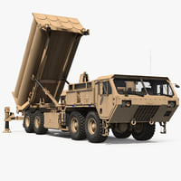 Terminal High Altitude Area Defense THAAD Battle Position