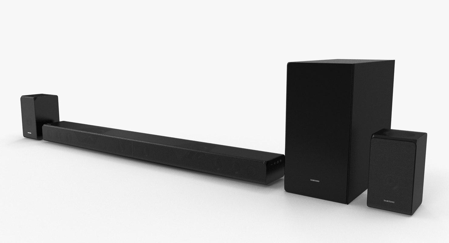 3D samsung soundbar model