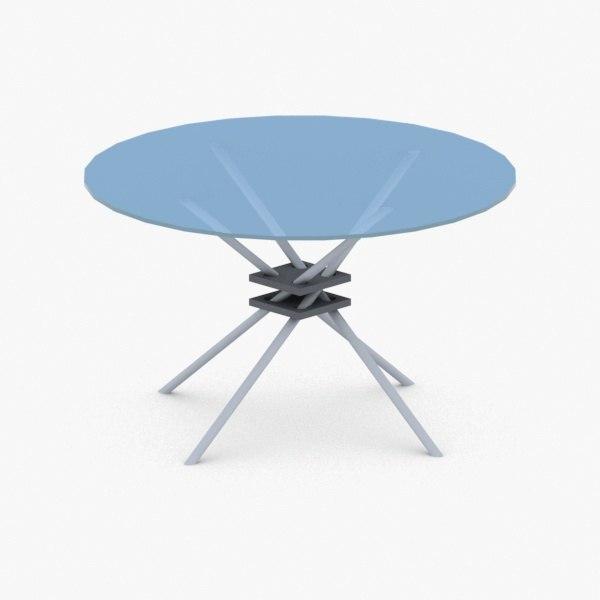 3D interior coffee table