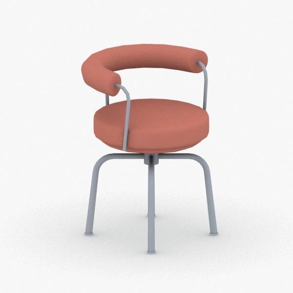 interior - modern chair stool 3D model