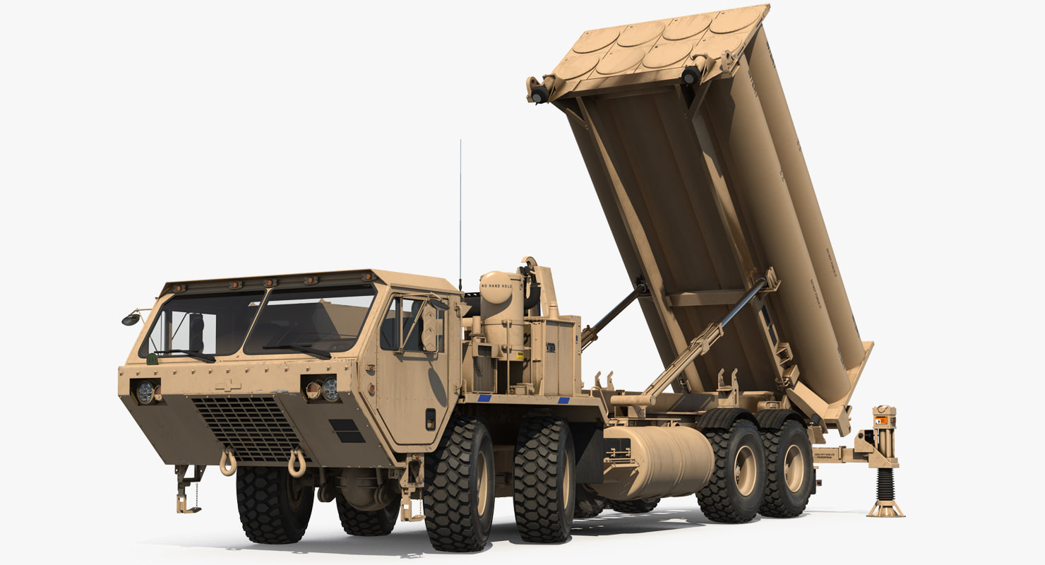 3D mobile anti ballistic missile