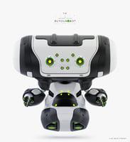 3D cartoon beetle bot model