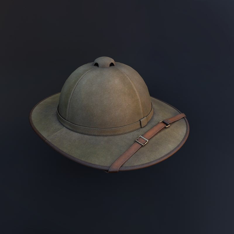 hat travel archeolo model