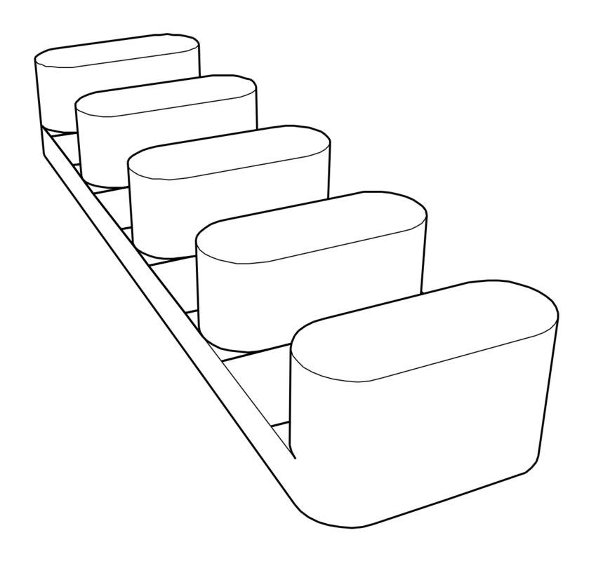 printed storage applewatch straps 3D