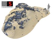 3D dark dunes 16k
