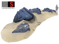 3D model dark dunes 16k