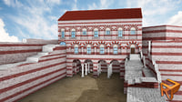 3D blakhernai palace