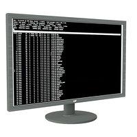 24 monitor 3D model