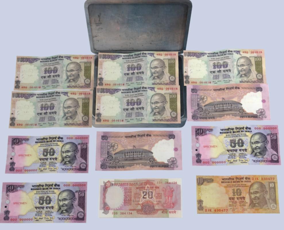 indian box 3D model