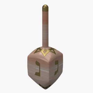 dreidel holidays model