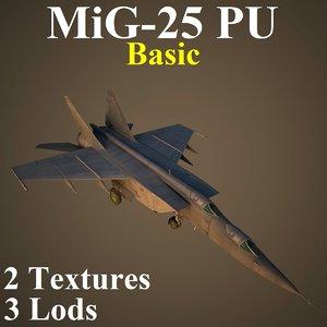 3D mikoyan basic