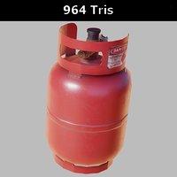 gas cylinder small pbr 3D