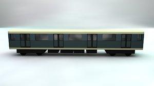 subway car model