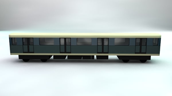 subway car model