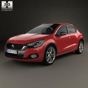 3D model crossback citroen ds4