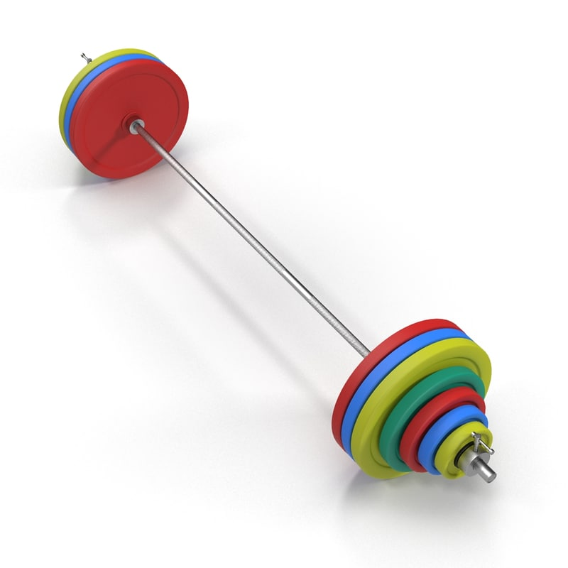 3D olympic barbell