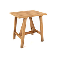 3D model crosby teak table
