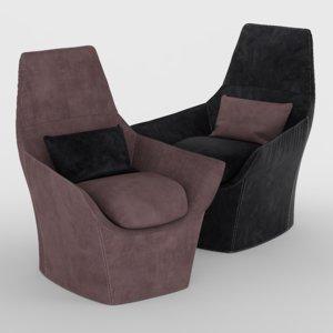 chair ermes 3D model