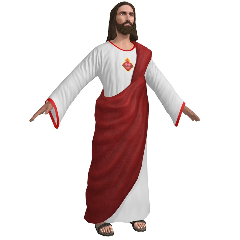3D jesus christ