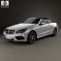 mercedes-benz e-class e 3D model