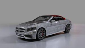 3D model mercedes benz s63 amg