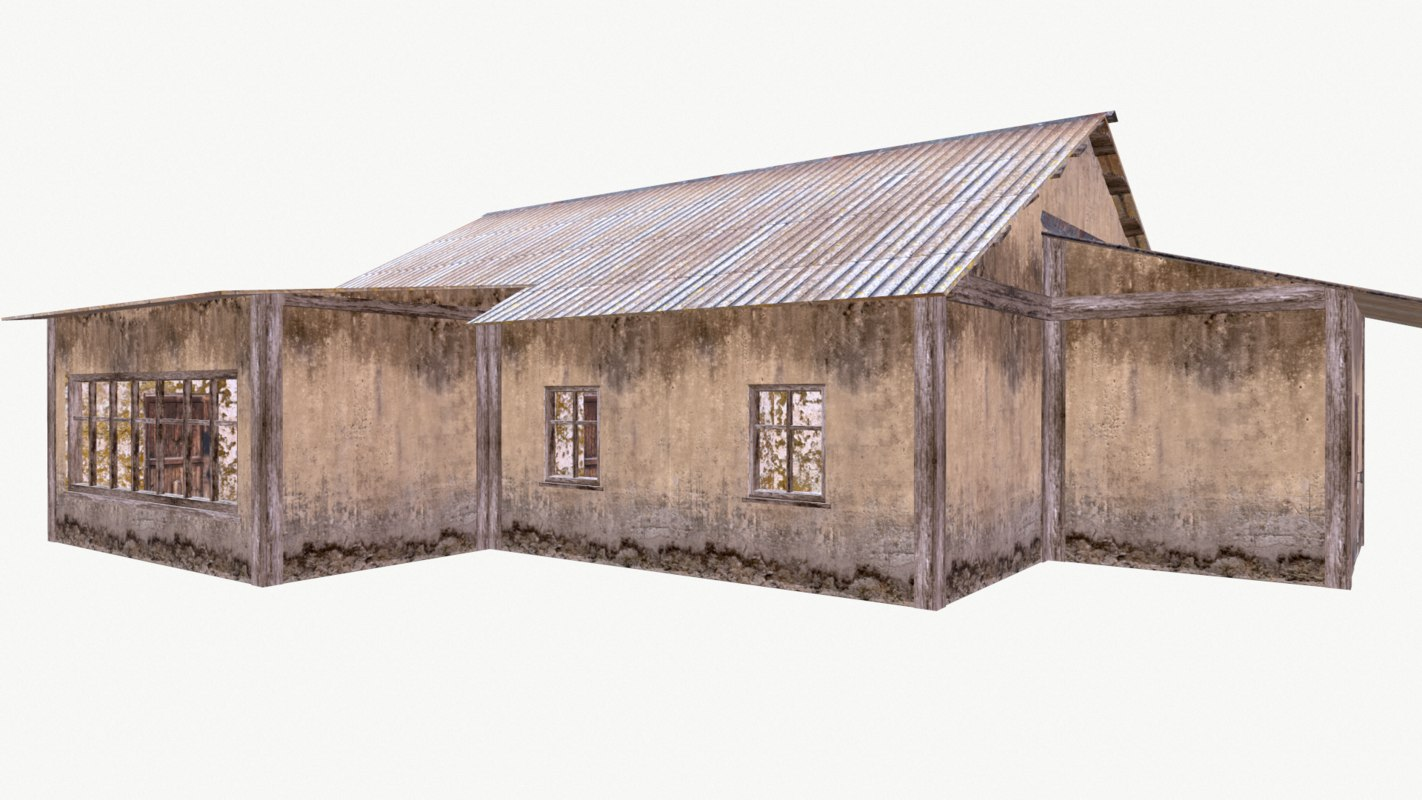 old house model