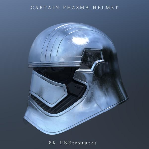 captain phasma 3D model