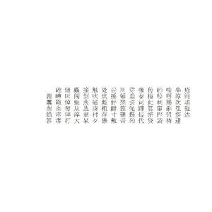 mandarin 5 ms mincho 3D model