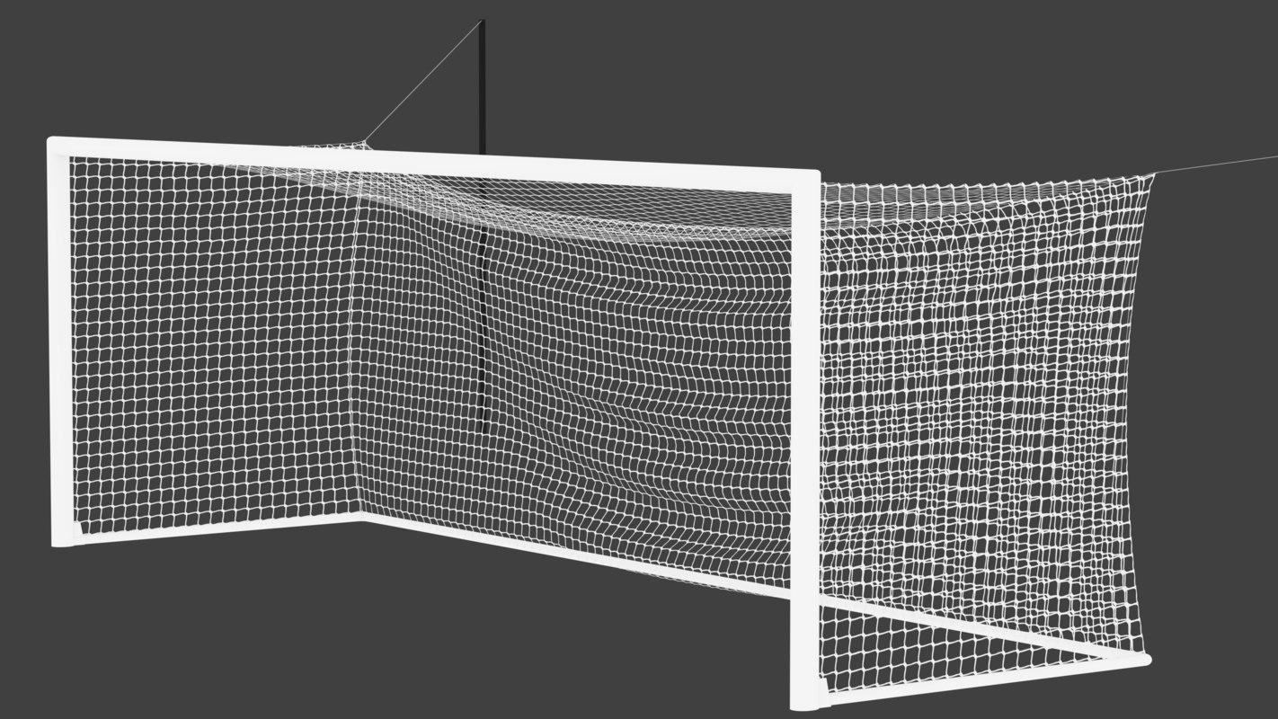 3D soccer goal