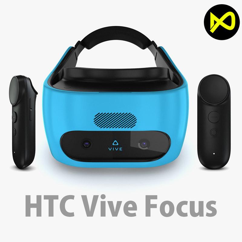 3D htc vive focus