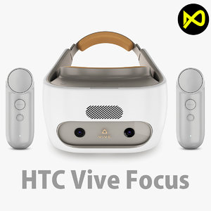 3D htc vive focus model