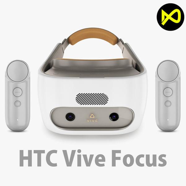 3D htc vive focus model
