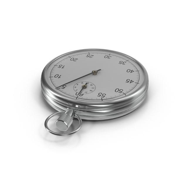 stop stopwatch watch 3D