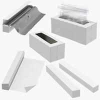 3D ziplock plastic aluminium foil