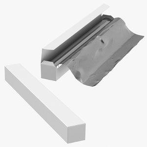 3D aluminium foil boxes