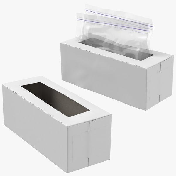 ziplock boxes 3D