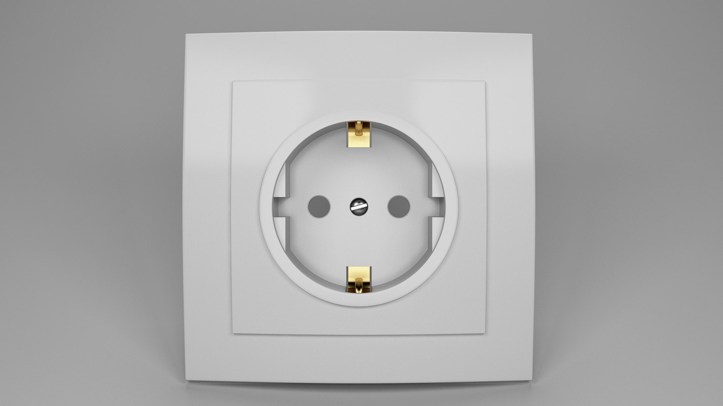 3D power socket