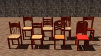 typical italian chairs farmhouse model