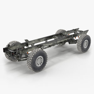4x4 truck chassis 3D model