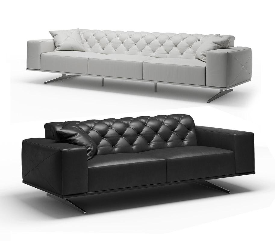 othello j m sofa 3D