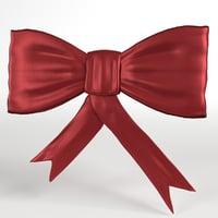 bow 1 3D model