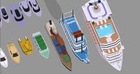 cruiseship freedom seas 3D model
