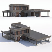 modern country house 3D