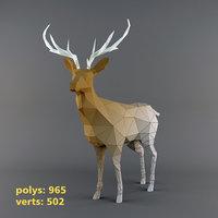 DeerLowPoly