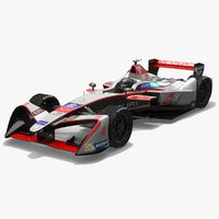 venturi racing formula e 3D model