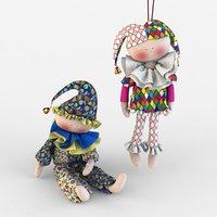3D model dolls toys