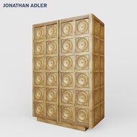 3D antwerp cabinet wood
