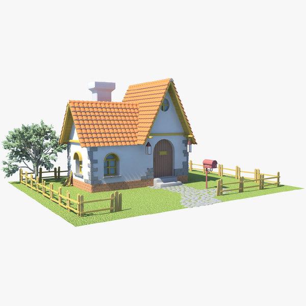 v 04 house 3D model